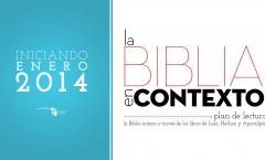 ESTUDIO: La Biblia En Contexto