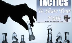 TACTICS TO SHARE YOUR FAITH