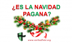 ¿Es La Navidad Pagana?