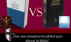 """Conspiración para """"Cambiar la Biblia"""" por la Editorial Harper Collins"""