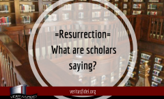 Resurrection: What are Scholars Saying? A Sample