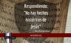 """Respondiendo: """"No hay hechos históricos de Jesús"""""""
