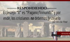 """El Cristiano y las """"Fiestas Paganas"""""""